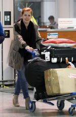 AMY ADAMS at Pierre Elliott Trudeau Airport in Montreal 06/01/2015