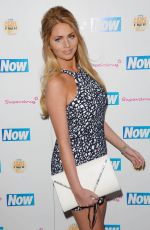 AMY CHILDS at Now Smart Girls Fake it Campaign with Superdrug Solait Launch Party in London