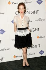 AMY HARGREAVES at The Overnight Premiere in New York