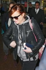 AMY POEHLER at Airport in Sydney 06/14/2015