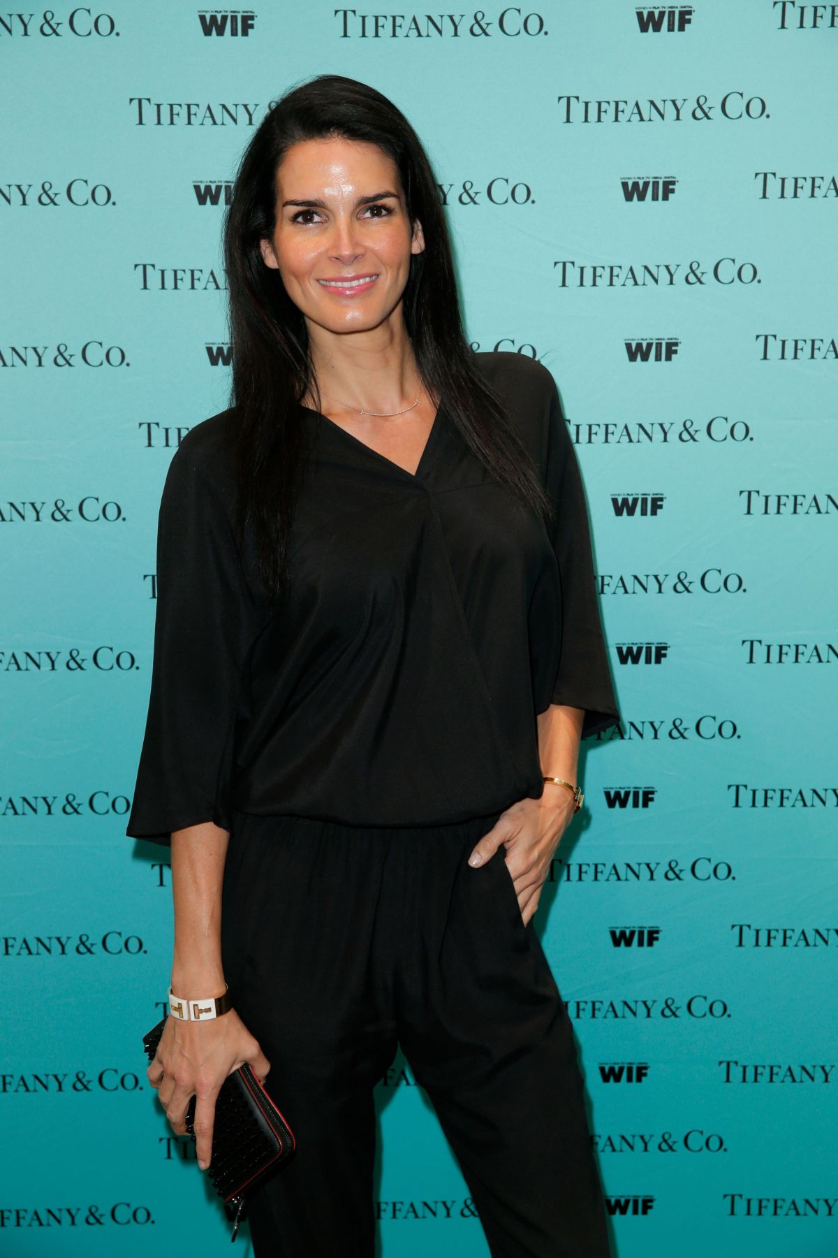 ANGIE HARMON at Tiffany & Co. and Women in Film Celebrate Sue Kroll in Beverly Hills