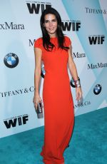 ANGIE HARMON at Women in Film 2015 Crystal+Lucy Awards in Century City