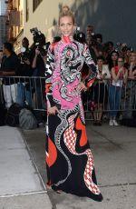 ANJA RUBIK at 2015 Amfar Inspiration Gala in New York