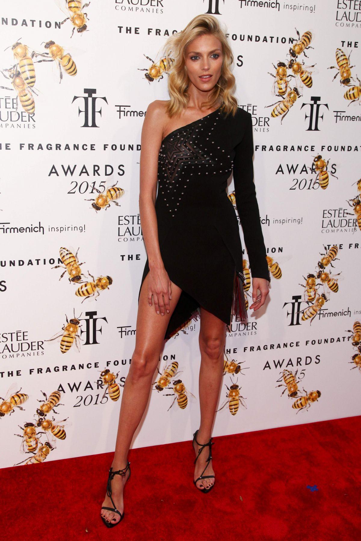 ANJA RUBIK at 2015 Fragrance Foundation Awards in New York
