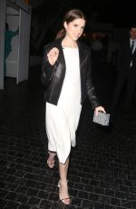ANNA KENDRICK Leaves Chateau Marmont in West Hollywood 05/30/2015