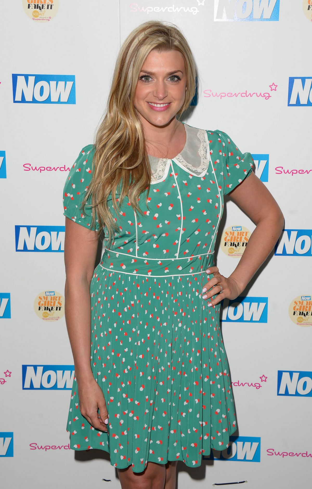 ANNA WILLIAMSON at Now Smart Girls Fake it Campaign with Superdrug Solait Launch Party in London