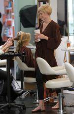 ANNALYNNE MCCORD at a Hair Salon in Beverly Hills 06/13/2015