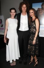 ANNE HATHAWAY at The True Cost Private Screening in New York
