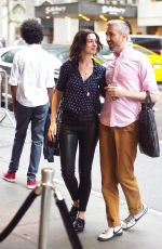 ANNE HATHAWAY Out and About in New York 06/15/2015