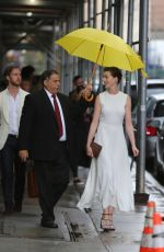 ANNE HATHAWAY Out in New York 06/16/2015