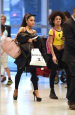 ARIANA GRANDE at JFK Airport in New York 06/29/2015