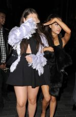 ARIANA GRANDE Night Out in London 06/01/2015
