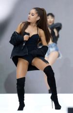 ARIANA GRANDE Performs at Capital FM Summertime Ball in London