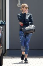 ASHLEY BENSON in Tights Out and About in Los Angeles 06/17/2015