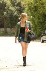 ASHLEY BENSON Out and About in Beverly Hills 06/24/2015
