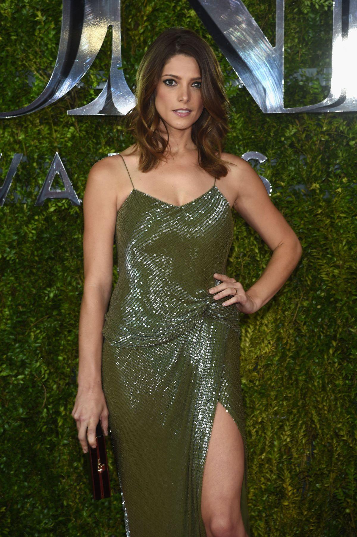 ASHLEY GREENE at 2015 Tony Awards in New York