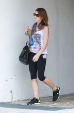 ASHLEY GREENE at a Gym in West Hollywood 05/30/2015