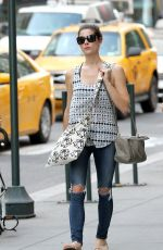 ASHLEY GREENE Out and About in Manhattan 06/09/2015
