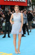 ASHLEY JAMES at Entourage Premiere in London