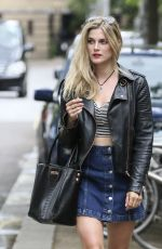 ASHLEY JAMES Out and About in London 06/22/2015