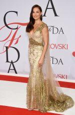 ASHLEY JUDD at CFDA Fashion Awards 2015 in New York