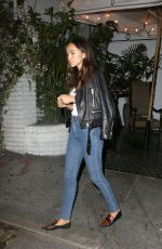 ASHLEY MADEKWE Leaves Chateau Marmont in West Hollywood 06/02/2015