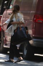 ASHLEY OLSEN Out and About in West Village 06/22/2015