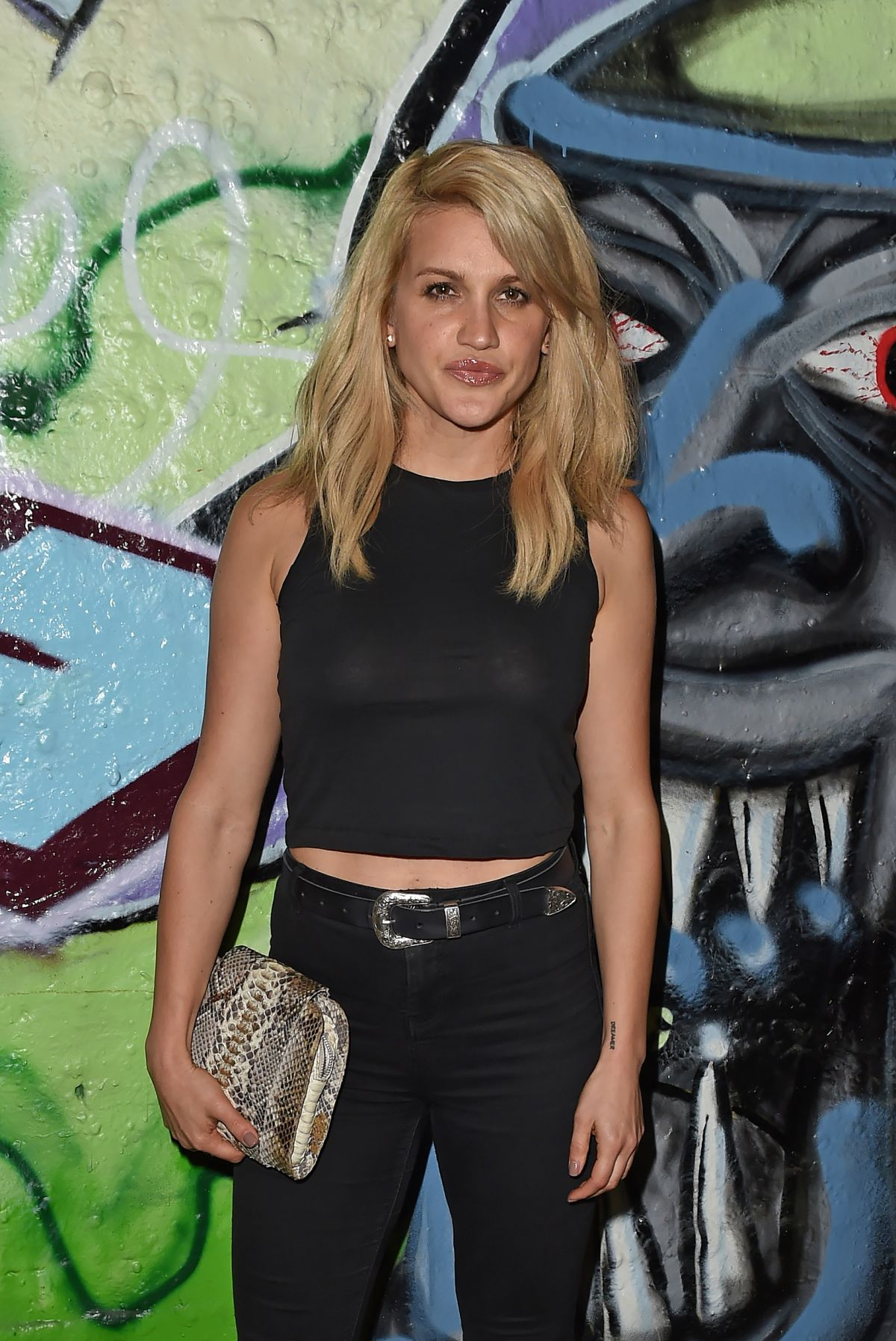 ASHLEY ROBERTS at Storm Model Agency Party in London