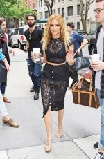 ASHLEY TISDALE Arrives at The Chew in New York 06/16/2015