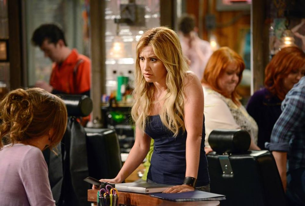 ASHLEY TISDALE - Clipped TV Series Promos