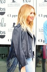 ASHLEY TISDALE in Jeans at Clipped Event in Beverly Hills