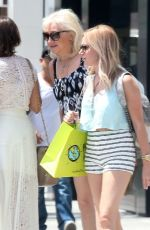 ASHLEY TISDALE Out Shopping in Beverly Hills 06/29/2015