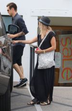 ASHLEY TISDALE Out Shopping in Studio City 06/28/2015