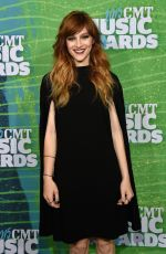 AUBREY PEEPLES at 2015 CMT Music Awards in Nashville
