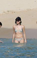 AUBREY PLAZA in Bikini at a Beach in Hawaii 06/05/2015
