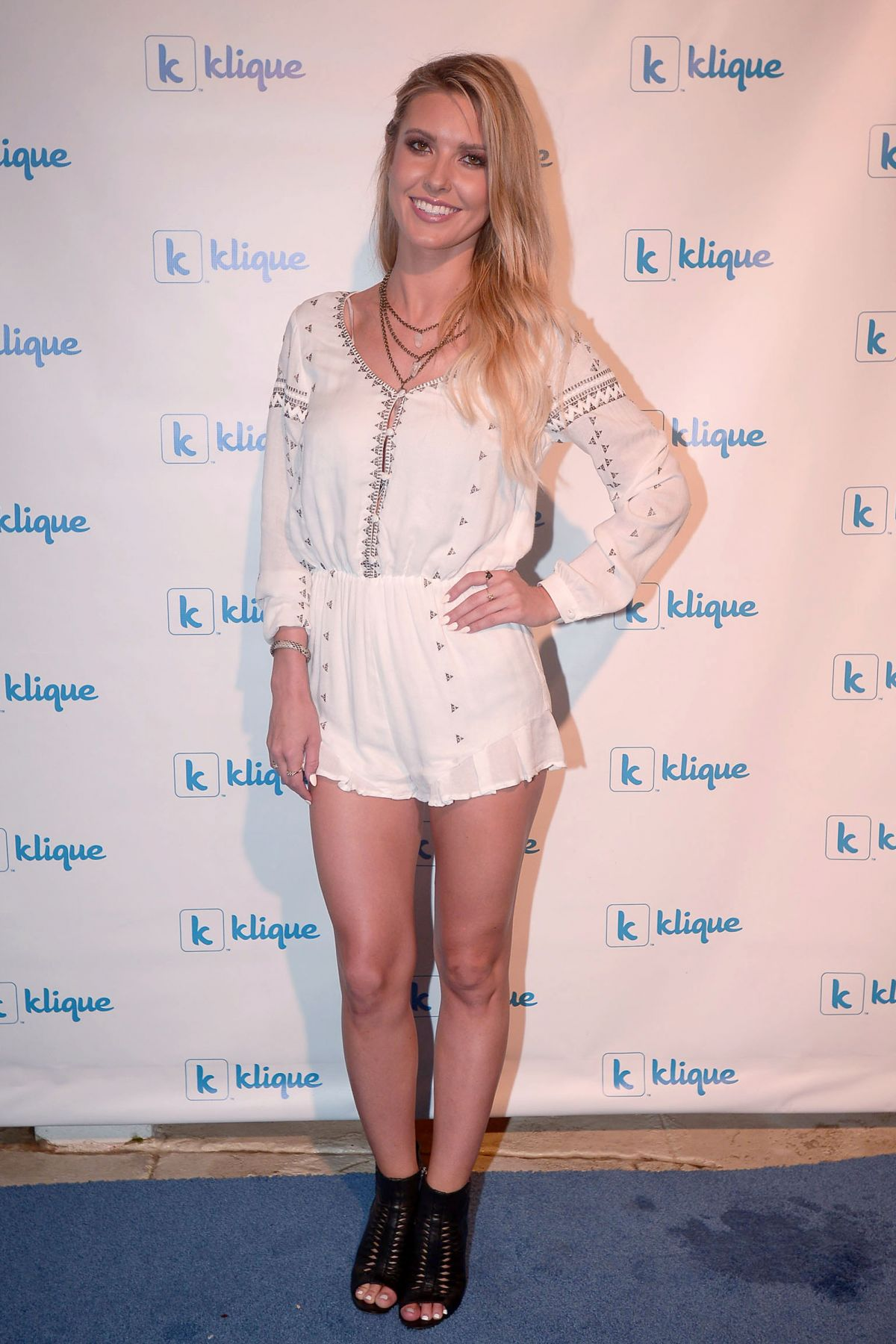 AUDRINA PATRIDGE at Klique App Miami Launch Party in Miami Beach