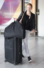 BARBARA MEIER Arrives at Tegel Airport in Berlin 06/18/2015