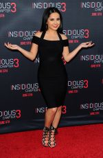 BECKY G at Insidious Chapter 3 Premiere in Hollywood