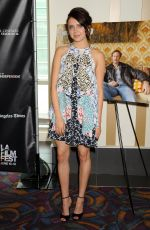 BEL POWLEY at Diary of a Teenage Girl Screening at 2015 LA Film Festival
