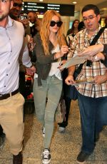 BELLA THORNE Arrives at Airport in Toronto 06/20/2015