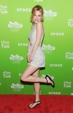 BELLA THORNE at Crocs Funway Event in New York