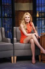 BELLA THORNE at Late Night With Seth Meyers 06/25/2015