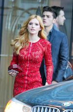 BELLA THORNE Leaves Her Hotel in Toronto 06/21/2015