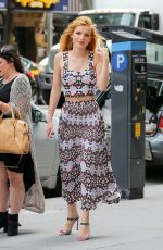 BELLA THORNE Out and About in New York 06/23/2015