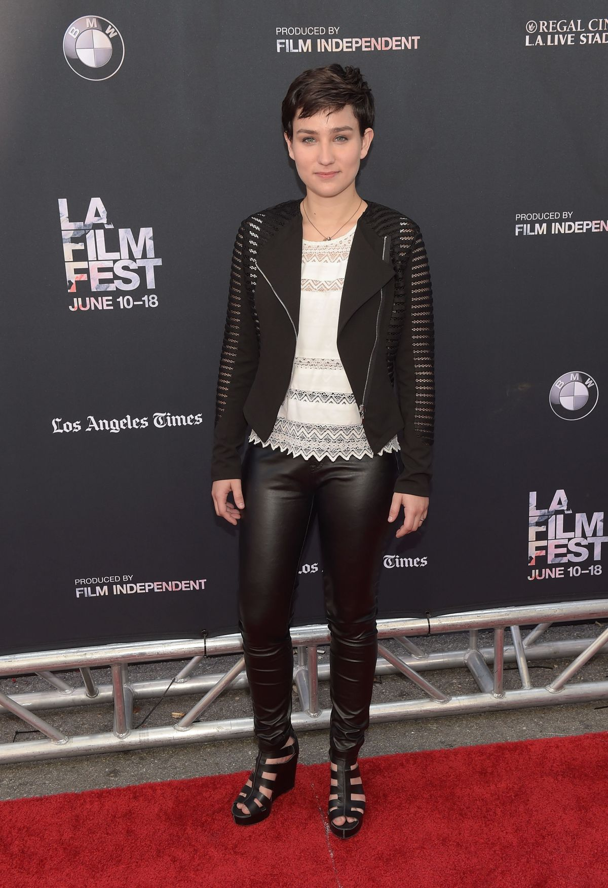 BEX TAYLOR-KLAUS at Scream Premiere at LA Film Festival