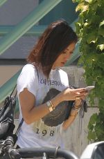 BRENDA SONG Out and About in Los Angeles 06/24/2015