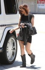BRENDA SONG Out and About in West Hollywood 06/15/2015