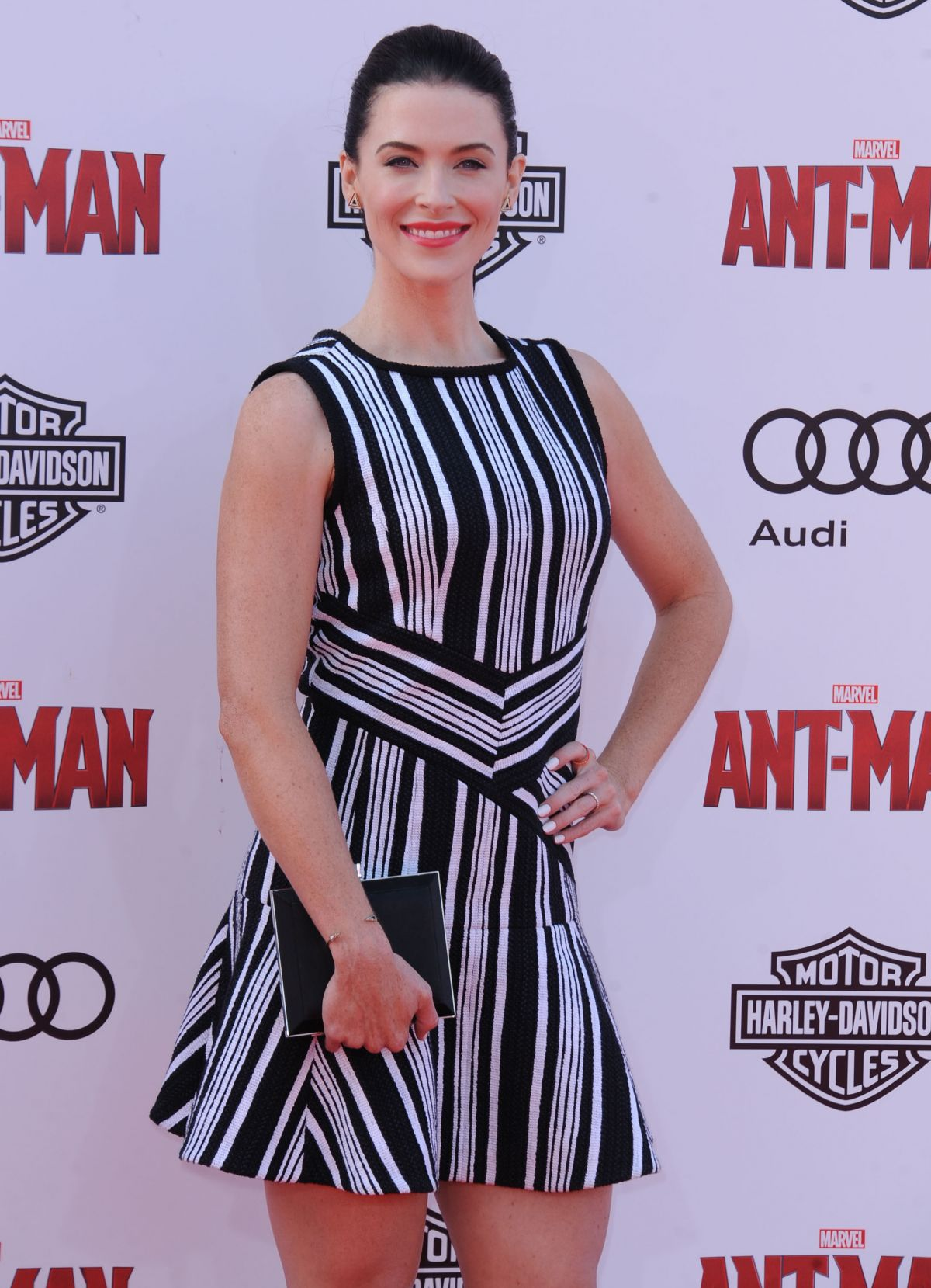 BRIDGET REGAN at Ant-man Premiere in Hollywood