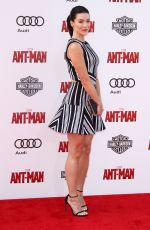 BRIDGET REGAN at Ant-man Premiere in Hollywood