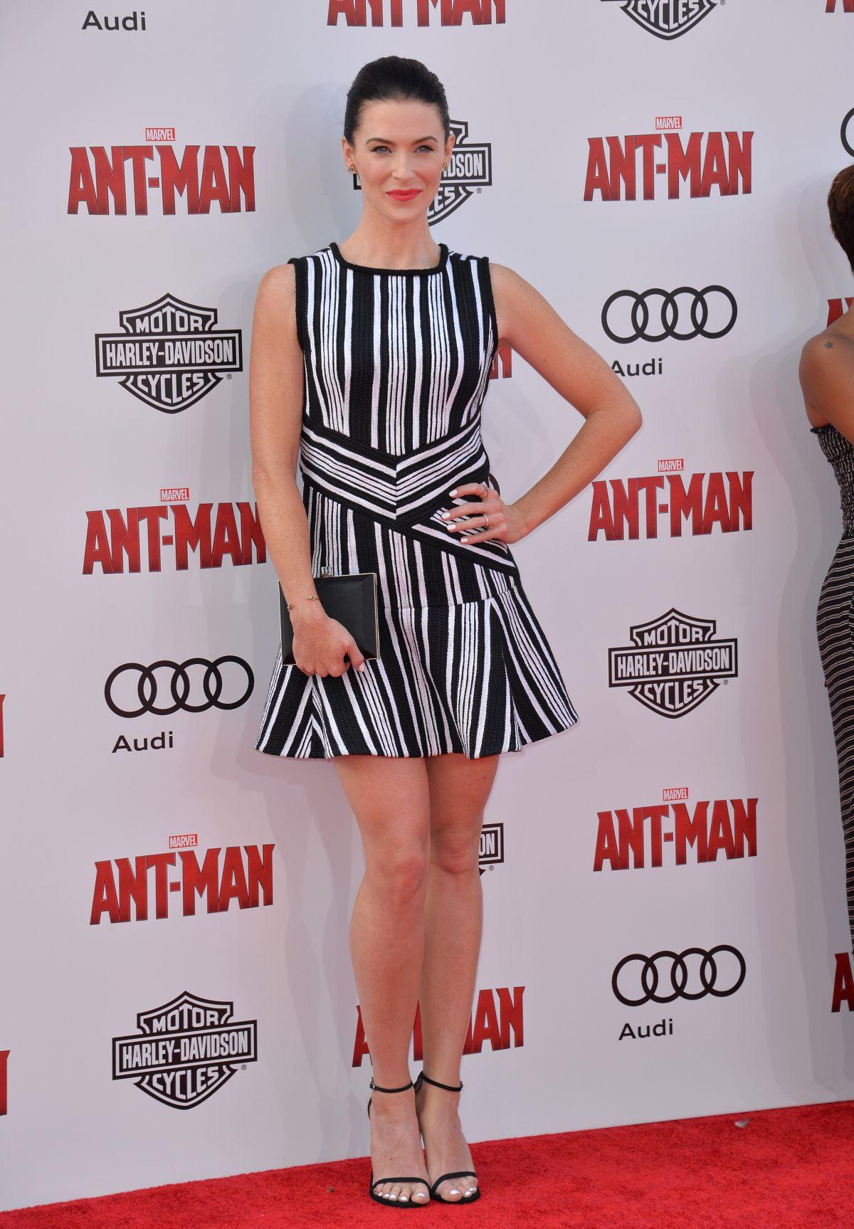 Bridget Regan At Ant Man Premiere In Hollywood